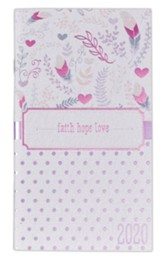 2020 Faith, Hope, Love Pocket Planner