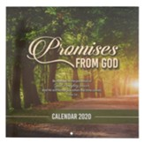 2020 Promises From God Wall Calendar