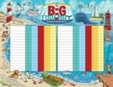 Big Fish Bay: Attendance Chart