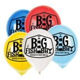 Big Fish Bay: Logo Balloons (pkg. of 25)