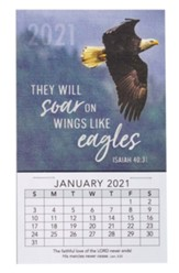 2021 Wings Like Eagles Mini Magnetic Calendar
