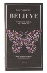 2021 Believe Daily Pocket Planner