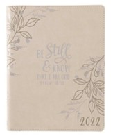 Be Still And Know 2022 18 Month Planner, Large