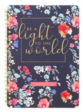 Be The Light To The World Wirebound Daily Planner, 2022