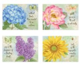 Butterfly Blooms, Thinking of You Boxed Cards (KJV)
