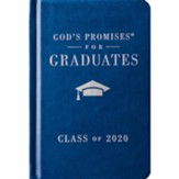 God's Promises for Graduates: Class of 2020 - Navy NKJV