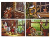 Barn Windows Thinking of You Cards, Box of 12