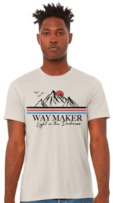 Way Maker T-Shirt, Tan, Medium