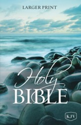 KJV Holy Bible Large Print, Case of 16