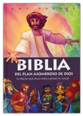 Biblia del plan asombroso de Dios (God's Amazing Plan Bible)