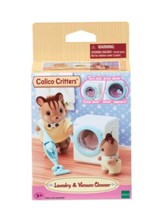 Calico Critters, Laundry & Vacuum Cleaner