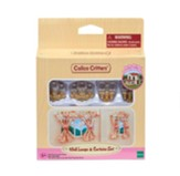 Calico Critters, Wall Lamps & Curtains Set