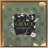 Live by Grace Framed Canvas