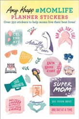 2021 Amy Knapp's Momlife Planner Stickers