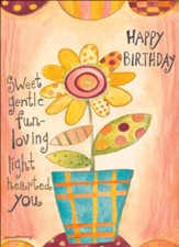 Flowery Festivities - Floral Birthday Cards, Box of 12