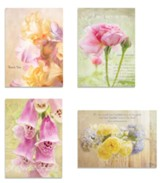 Floral Thank You Cards, Box of 12