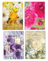Anniversary Shared Blessings, Floral Cards, Box of 12