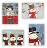 Snowmen, Christmas Cards, Box of 12