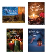 Candles, Christmas Cards, Box of 12