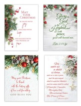 Garland Christmas Cards, Box of 12