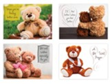 Teddy Bears Get Well Cards, Box of 12