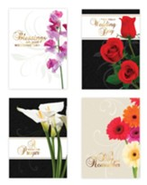 Assorted Wedding Cards, Box of 12
