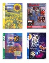 ACE Core Curriculum Kit (4  Subjects), PACEs Only, Grade 4, 3rd Edition (with 4th Edition English, Science & Social  Studies)