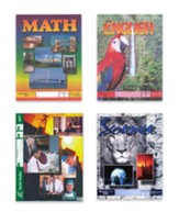 ACE Core Curriculum Kit (4  Subjects), PACEs Only, Grade 9, 3rd Edition (with 4th Edition World Geography & Biology)