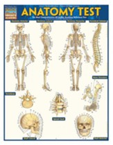 Anatomy Test, Laminated Guide
