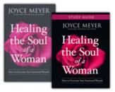 Healing Soul of a Woman, Book and Study Guide, 2 Volumes