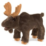 Camp Moose on the Loose: Small Moose Puppet