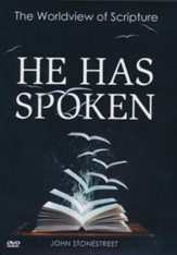 He Has Spoken: The Worldview of Scripture, DVD Study