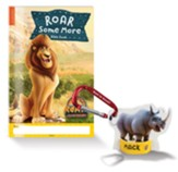 Bible Memory Buddies + Carabiners + Roar Some More Bible Book, enough for 10 kids
