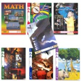 ACE Comprehensive Curriculum (7 Subjects), Single Student PACEs Only Kit, Grade 4, 3rd Edition (with 4th Edition English, Science & Social Studies)