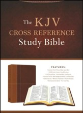 The KJV Cross Reference Study Bible - Imitation Leather (masculine)
