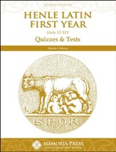 Henle Latin Quizzes & Tests for Units 6-14, 2nd Edition
