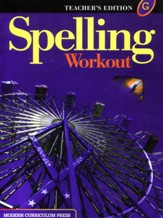 Spelling Workout 2001/2002 Level G  Teacher Edition