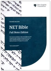 NET Comfort Print Bible, Full-Notes Edition--soft leather-look, teal