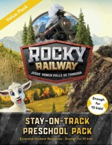Rocky Railway: Stay-On-Track Preschool Student Pack