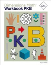 Dimensions Math Workbook Pre-K B