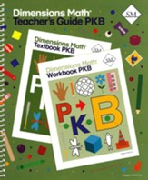 Dimensions Math Teacher's Guide Pre-K B
