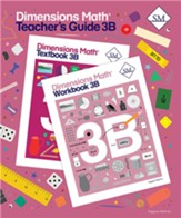 Dimensions Math Teacher's Guide 3B