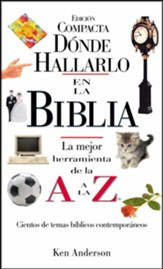 Compacta A-Z Donde esta esa frase en la Biblia: Where to Find it in the Bible A-Z (Spanish edition)