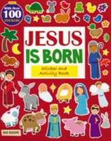Jesus Is Born Sticker Book