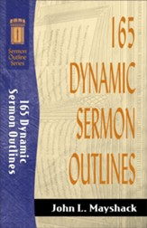 165 Dynamic Sermon Outlines - eBook