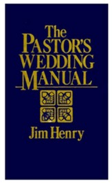 The Pastor's Wedding Manual - eBook