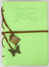 A New Creation, Green Journal with Charm
