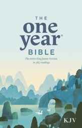 The One Year Bible KJV - eBook