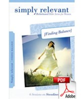 Simply Relevant: Finding Balance (download) - PDF Download [Download]