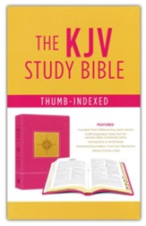 Go-Anywhere KJV Study Bible (Primrose Compass), imitation leather, Thumb-Indexed